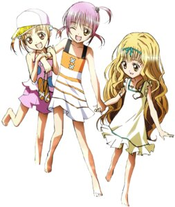 Rating: Safe Score: 7 Tags: dress hinamori_amu mashiro_rima screening shugo_chara summer_dress yuiki_yaya User: charunetra