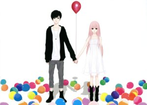 Rating: Safe Score: 12 Tags: just_be_friends_(vocaloid) megurine_luka vocaloid you_know_me? yunomi User: Aurelia