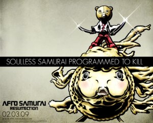 Rating: Safe Score: 1 Tags: afro_samurai okazaki_takashi wallpaper User: nanashioni