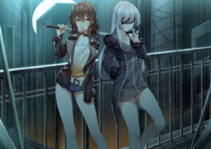 Rating: Safe Score: 50 Tags: dress rukousou_no_hana smoking weapon User: Mr_GT
