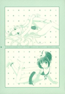 Rating: Safe Score: 6 Tags: bikini hakkaya kunihiro_hajime monochrome ryuumonbuchi_touka saki swimsuits tokumi_yuiko User: petopeto