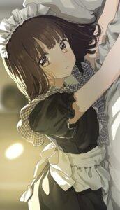 maid menhera-chan. nanase_kurumi pomu sketch #1301