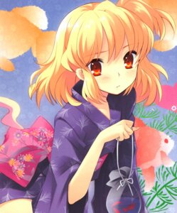 Rating: Safe Score: 19 Tags: flyable_heart ito_noizi sumeragi_amane unisonshift yukata User: Radioactive