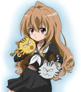 Rating: Safe Score: 22 Tags: aisaka_taiga cosplay ookami-san parody seifuku toradora! zero_gunsou User: Splaash.-