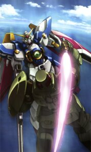 Rating: Safe Score: 7 Tags: gundam gundam_wing mecha wing_gundam User: Radioactive