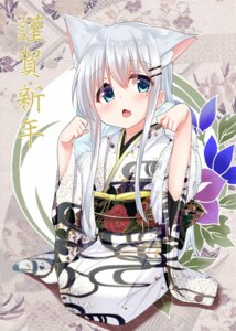 Rating: Safe Score: 41 Tags: animal_ears cacao_(cacao0809) kimono User: Mr_GT