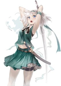 Rating: Safe Score: 39 Tags: konpaku_youmu sinker sword touhou User: Radioactive