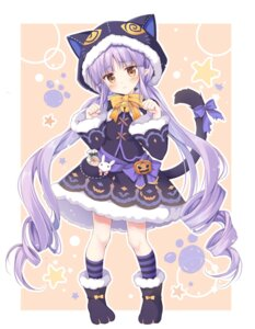 Rating: Safe Score: 43 Tags: animal_ears halloween hikawa_kyouka korie_riko nekomimi pointy_ears princess_connect princess_connect!_re:dive tail User: Mr_GT