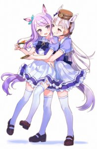 Rating: Questionable Score: 9 Tags: animal_ears gold_ship_(umamusume) mejiro_mcqueen_(umamusume) nekoyashiki_pushio seifuku tagme tail thighhighs uma_musume_pretty_derby yuri User: Dreista
