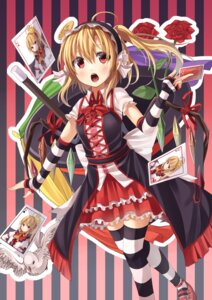 Rating: Safe Score: 22 Tags: flandre_scarlet gurasion thighhighs touhou wings User: Mr_GT
