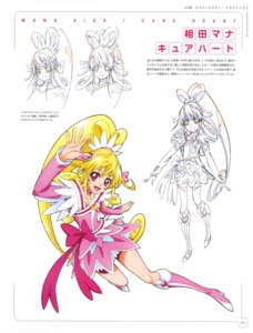 Rating: Questionable Score: 5 Tags: aida_mana dokidoki!_precure dress heels pretty_cure sketch takahashi_akira User: drop