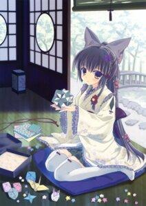 Rating: Safe Score: 57 Tags: kimono nanao_naru thighhighs User: Twinsenzw