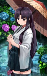 Rating: Safe Score: 24 Tags: kantai_collection okitsugu shouhou_(kancolle) thighhighs umbrella User: KazukiNanako