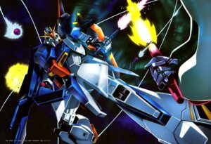 Rating: Questionable Score: 9 Tags: gundam qubeley shino_masanori zeta_gundam zeta_gundam_(mobile_suit) User: drop
