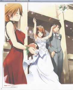Rating: Safe Score: 10 Tags: 5_nenme_no_houkago dress kantoku komaki_ikuno komaki_manaka to_heart_2 to_heart_(series) wedding_dress User: Radioactive
