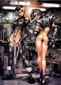 Rating: Questionable Score: 31 Tags: ass bodysuit erect_nipples shirow_masamune User: nanashioni