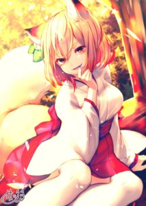 Rating: Safe Score: 23 Tags: animal_ears chita_(ketchup) japanese_clothes kitsune tagme tail thighhighs User: BattlequeenYume