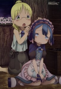 Rating: Safe Score: 28 Tags: made_in_abyss maid maruruk_(made_in_abyss) megane riko_(made_in_abyss) trap tsukamoto_akane User: drop