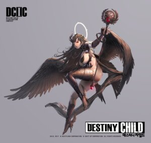 Rating: Questionable Score: 21 Tags: bottomless breasts destiny_child heels horns no_bra pasties thighhighs weapon wings zig User: ForteenF