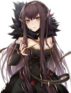 Rating: Safe Score: 27 Tags: assassin_of_red_(fate/apocrypha) black_cola cleavage dress fate/apocrypha fate/stay_night pointy_ears User: 川俣慎一郎