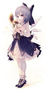 Rating: Safe Score: 23 Tags: cirno dress heels hito_komoru tagme touhou wings User: Mr_GT