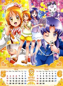 Rating: Safe Score: 10 Tags: calendar gura-san happiness_charge_precure! hikawa_iona oomori_yuuko pretty_cure satou_masayuki uniform User: drop