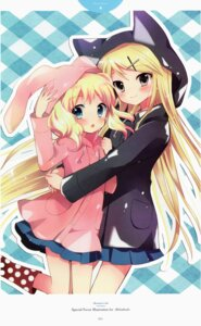 Rating: Safe Score: 65 Tags: alice_cartelet hara_yui kin'iro_mosaic kujou_karen User: yong