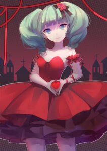 Rating: Safe Score: 16 Tags: cleavage dress hatsune_miku slyvia vocaloid User: charunetra