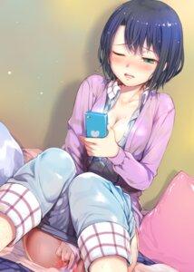 Rating: Explicit Score: 49 Tags: adachi_sakura adachi_to_shimamura cleavage masturbation mikazuki_akira no_bra open_shirt pajama pantsu pussy pussy_juice sweater User: hiroimo2