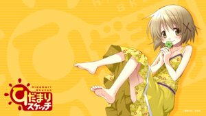Rating: Safe Score: 17 Tags: aoki_ume dress hidamari_sketch summer_dress wallpaper yuno User: wabo