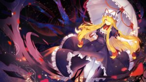 Rating: Safe Score: 24 Tags: cleavage pantyhose rin_falcon touhou umbrella wallpaper yakumo_yukari User: RyuZU