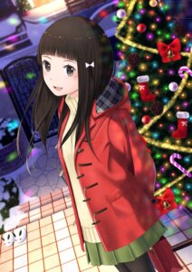 Rating: Safe Score: 26 Tags: christmas pantyhose sweater taka_(tsmix) User: Mr_GT
