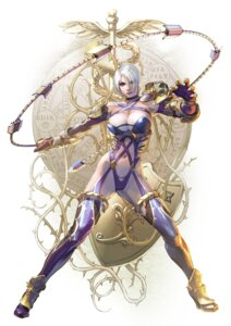 Rating: Questionable Score: 32 Tags: armor cleavage heels ivy_valentine kawano_takuji leotard soul_calibur soul_calibur_vi stockings thighhighs weapon User: YamatoBomber