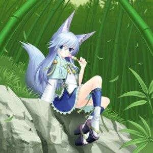 Rating: Safe Score: 22 Tags: animal_ears kitsune tail wraiththeetoile User: tbchyu001