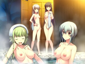 Rating: Explicit Score: 72 Tags: amakura andou_kasumi bathing censored game_cg miyagawa_miyako naked nipples onsen pussy root_nuko tsukishima_midori wet worlds_and_world's_end yazama_fumika User: Radioactive