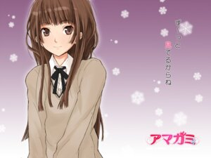 Rating: Safe Score: 28 Tags: amagami kamizaki_risa nishiuri_warito seifuku wallpaper User: shiokara