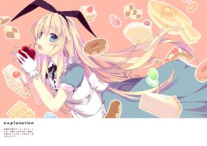Rating: Safe Score: 30 Tags: alice alice_in_wonderland ooba_kagerou User: mula3
