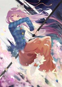 Rating: Safe Score: 32 Tags: hata_no_kokoro rice_(okome_no_naru_ki) touhou weapon User: BattlequeenYume