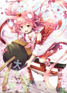 Rating: Safe Score: 54 Tags: animal_ears dress kitsune sakuragi_ren tail User: Romio88