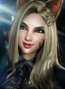 Rating: Safe Score: 12 Tags: ahri animal_ears league_of_legends sevenbees User: Darkthought75