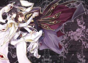 Rating: Safe Score: 15 Tags: code_geass kururugi_suzaku lelouch_lamperouge male maretsuki User: shizukane