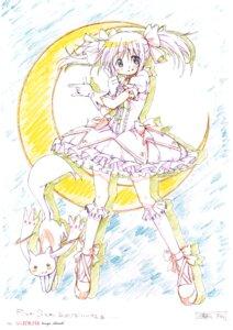 Rating: Safe Score: 23 Tags: heels kaname_madoka kyubey parody puella_magi_madoka_magica sailor_moon shiotsuki_kazuya User: Hatsukoi