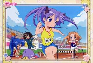 Rating: Safe Score: 8 Tags: hiiragi_kagami hiiragi_tsukasa izumi_konata kusakabe_misao lucky_star minegishi_ayano User: Onpu