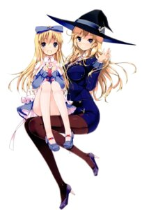 Rating: Safe Score: 61 Tags: dress heels pantyhose refeia seiken_tsukai_no_world_break shimon_maya uniform witch User: yfqh008