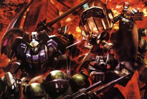 Rating: Safe Score: 8 Tags: aura_battler_dunbine combat_mecha_xabungle crossover d-1 densetsu_kyojin_ideon dougram dunbine fang_of_the_sun_dougram galient gun gundam heavy_metal_l-gaim ideon l-gaim mecha metal_armor_dragonar morishita_naochika panzer_world_galient scopedog sword votoms walker_gallia zeta_gundam zeta_gundam_(mobile_suit) User: Radioactive