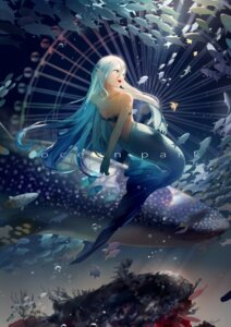 Rating: Safe Score: 31 Tags: bikini_top cleavage leiq mermaid monster_girl tail User: charunetra