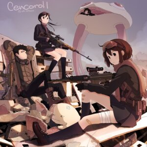 Rating: Safe Score: 24 Tags: cencoroll gun kokudou_juunigou seifuku User: blooregardo