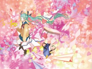Rating: Safe Score: 5 Tags: 24_(24unk) hatsune_miku seifuku vocaloid User: Nekotsúh