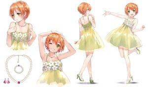 Rating: Safe Score: 57 Tags: dress heels hoshizora_rin love_live! love_live!_school_idol_festival see_through sheska_xue User: Mr_GT