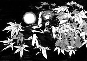 Rating: Safe Score: 9 Tags: cvs maribel_han monochrome touhou usami_renko User: Minacle